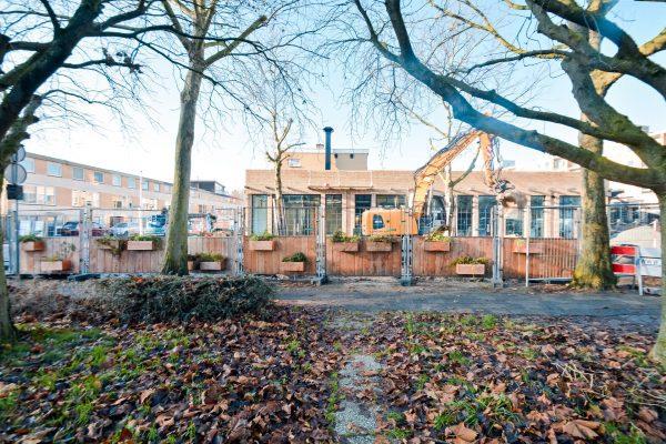 Groene Bouwhekken bij De Gaard Utrecht