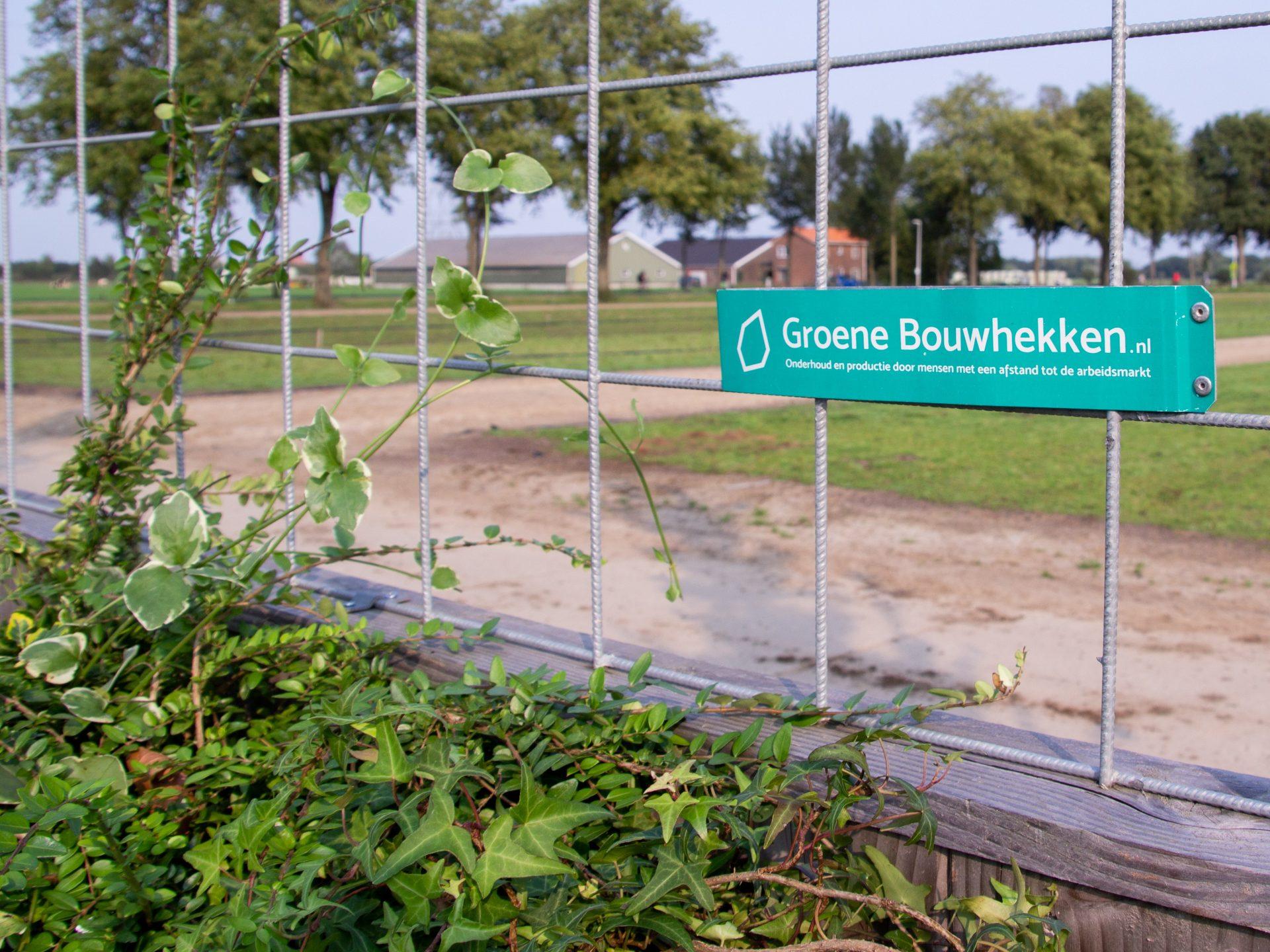 groenebouwhekken bordje