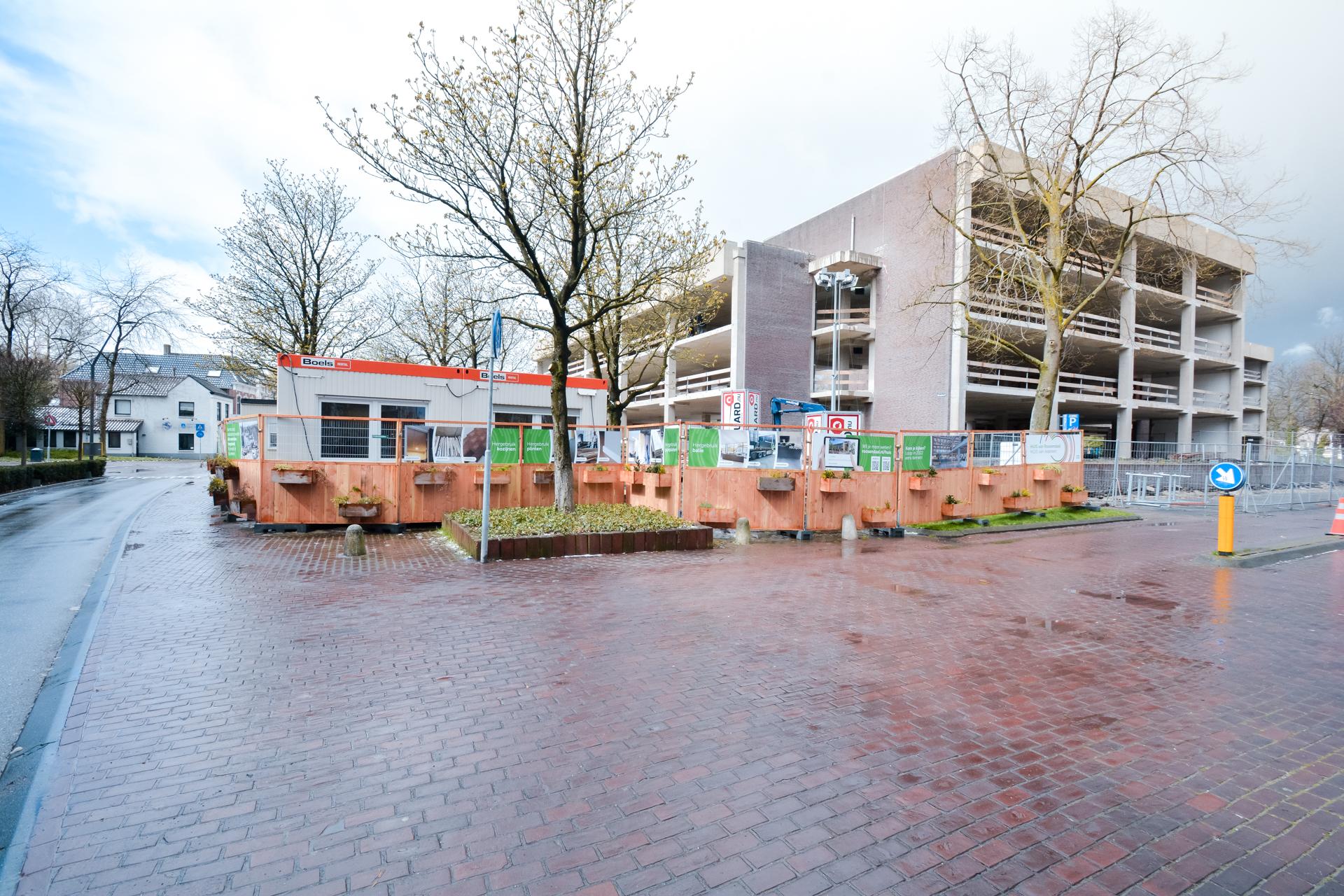 Groene Bouwhekken in Roosendaal